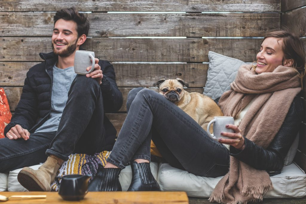 Hunde helfen uns soziale Kontakte zu knüpfen